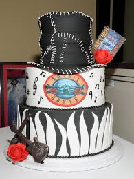 guns roses 1 music theme customised cakes cupcakes mumbai buy