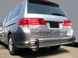 honda odyssey rear bumper saika enterprise b 99 14 honda odyssey b stainless steel