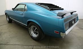 1970 ford mustang mach 1 sportsroof fastback beverly hills car club