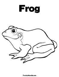 lobel frog toad coloring pages