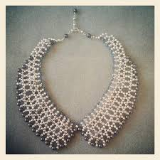 beaded collar necklace jewelry images Beaded collar la poubelle jpg