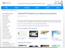 templates for wps office android download ppt templates for your slideshow and wps office mandegar info