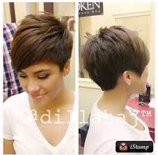 differnt styles to cut hair love the volume love the different style of pixie still short but
