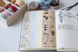 things to do with washi tape 6 uses for washi tape in your bullet journal stationery wednesday