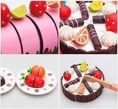 playpink cuisine garden toys for wood food for play pink strawberry