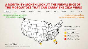 map of usa zika zika update the beginning of summer whitehouse gov