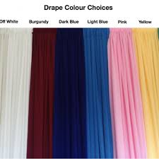 backdrop rentals allcargos tent event rentals inc drape fabric colours