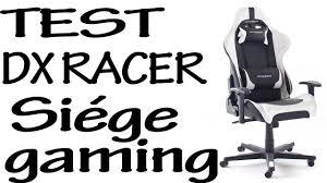 test fauteuil de bureau dx racer 6 gaming fauteuil de bureau unboxing test fr