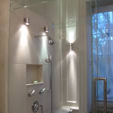 bathroom glass shower cabin partition walls stainless steel