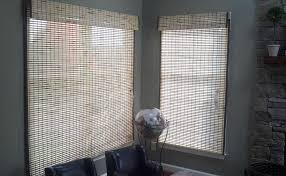 White Bamboo Curtains White Bamboo Shades And Bamboo Window Treatments For