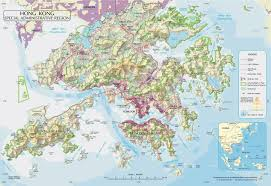 Physical Map Of Asia by Maps Of Hong Kong Detailed Map Of Hong Kong In English Tourist