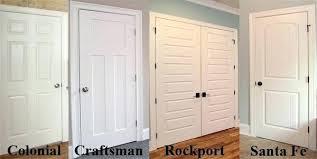 Craftsman Closet Doors Closet Door Types Golbiprint Me