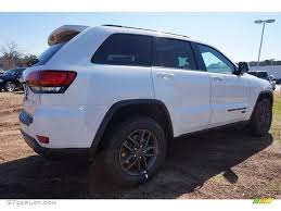 2016 jeep grand cherokee white 2016 bright white jeep grand cherokee 75th anniversary edition