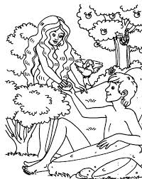 adam eve coloring pages printable coloringstar