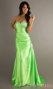 the fresh and elegant design of lime green bridesmaid dresses