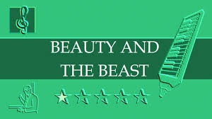 quotes beauty music melodica notes tutorial beauty and the beast disney sheet