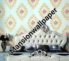 wallpaper bunga lingkaran jual wallpaper dinding bunga lingkaran klasik mewah di lapak