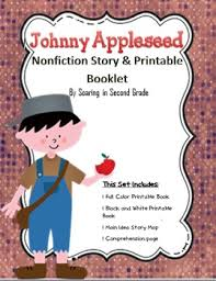 the story of johnny appleseed nonfiction printable book tpt