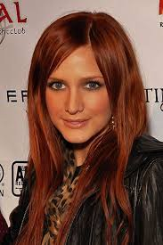 hair ideas for tan how to get red hair with tan skin ashlee simpson red hair and