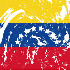Flag Venezuela Dirty Venezuela Flag Background Royalty Free Cliparts Vectors