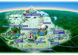 walt disney resort map maps of disney area hotels and resorts
