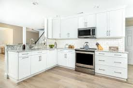 white kitchen cabinets refinishing amazing kitchen refacing transformations with before