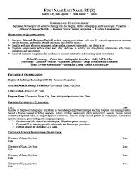 tech resume template radiologic technologist resume template premium resume sles