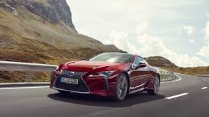 dark green lexus lexus lc offers impressive potency with incredible poise