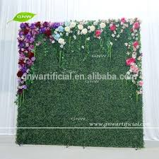 wedding backdrop green gnw plywood backdrop artificial green flower wall with plywood