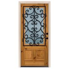 steves u0026 sons 36 in x 80 in decorative iron grille 3 4 lite