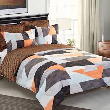 geometric pattern bedding amazon com ntbay 5 pieces reversible fashionable and simple
