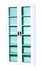 Storage Cabinet With Glass Door Elegant Storage Cabinets With Glass