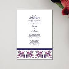 muslim wedding cards rectangular shape muslim wedding invitation cards modern ideas
