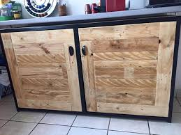 kitchen cabinets from pallet wood pallet wood sideboard kitchen cabinets 101 pallets