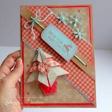 pollypurplehorse is crafty origami christmas trees a tutorial