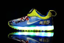 Kids Light Up Shoes Nike Light Up Shoes Kids Lightning 26 35 Australia 53 66