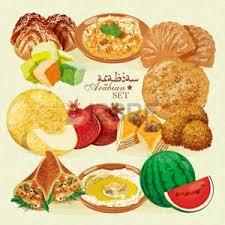 cuisine libanaise traditionnelle cuisine libanaise banque d images vecteurs et illustrations libres