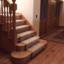 how to install carpet stair treads