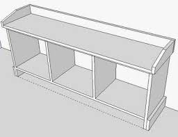 Free Plans To Build A Storage Bench by Best 20 Entryway Bench Storage Ideas On Pinterest Entry Storage