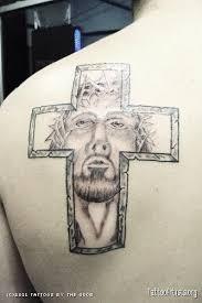 jesus in cross tattoo artists org
