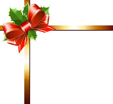 blue and gold ribbon blue christmas ribbon clipart clipartxtras