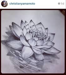 tattoo flower drawings drawn tattoo lotus flower pencil and in color drawn tattoo lotus