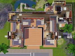 Sims House Ideas by Sims 3 Cool House Ideas