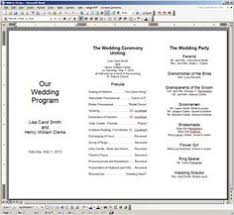 how to make your own wedding programs diy on how to make your own booklet style wedding
