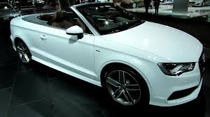 convertible audi 2015 audi a3 convertible s line exterior and interior walkaround