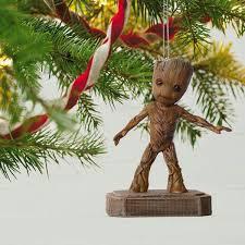 hallmark magic ornament 2017 groovin groot guardians of the