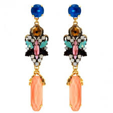 pretty earrings erickson beamon jewellery statement earrings earrings