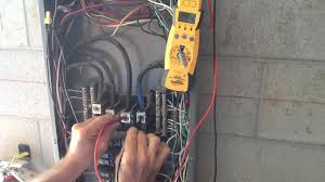 how to measure or check for 3 phase voltage youtube