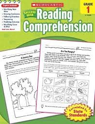 reading comprehension grade scholastic success with reading comprehension grades 1