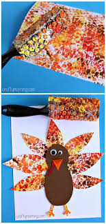 wrap printed turkey project thanksgiving craft for